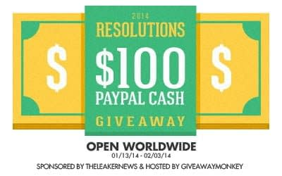 New Year Resolutions Giveaway