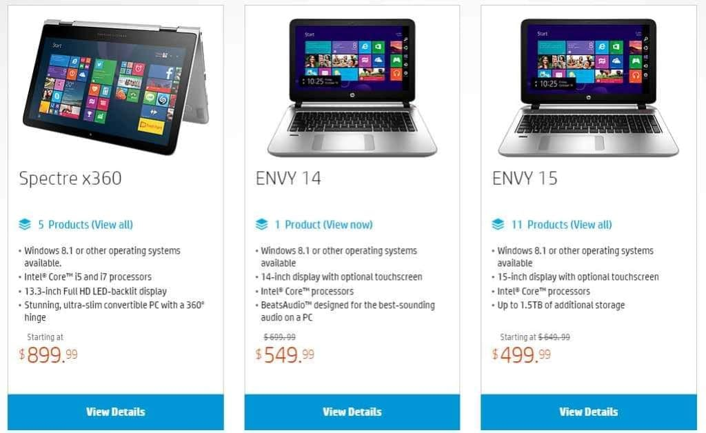 hp deals image
