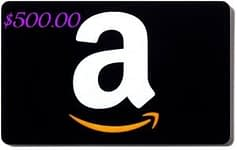 Amazon Gift Card Balance $500 Giveaway