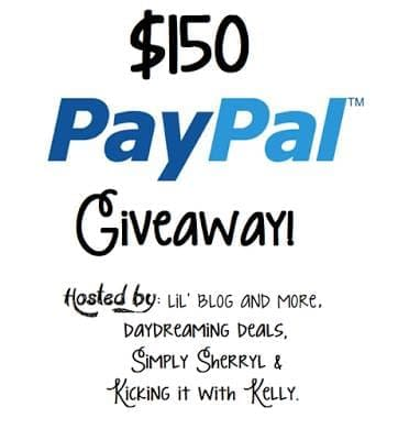 Paypal 150 Giveaway