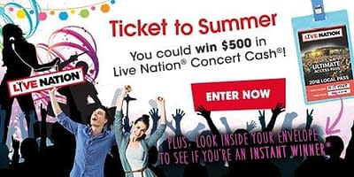 Concerts Near Me 2017 Giveaway