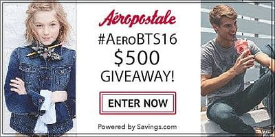 Aeropostale Promo Code And Gift Card Giveaway