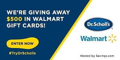 Dr. Scholl's Orthotic Inserts Deal And Giveaway