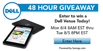 Dell Tablets Giveaway Event