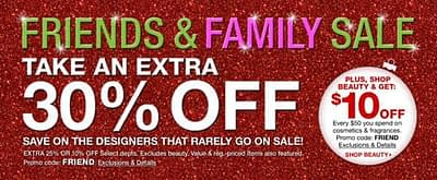 Friends & Family Sale And Giveaway