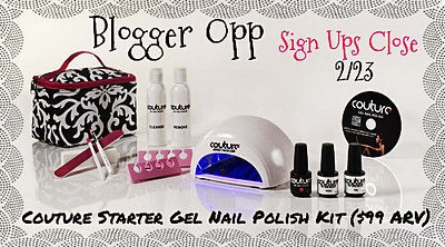 Sign Up For Couture Starter Gel Nail Polish Kit Giveaway