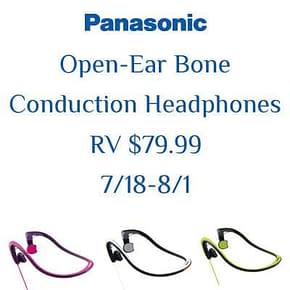open-ear bone conduction headphones