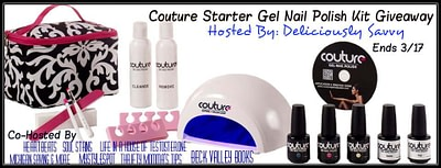 Couture Starter Gel Nail Polish Kit Giveaway