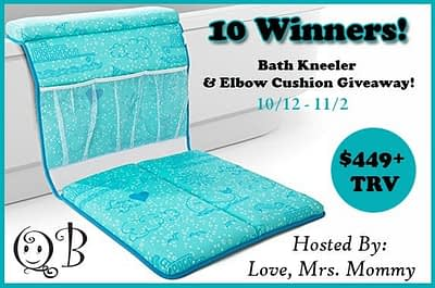 Bath Kneeler And Elbow Cushion Giveaway