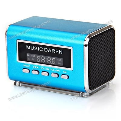 Win Fashionable Aluminum Vibration Film Music Daren Speaker