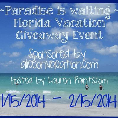 Florida – A Paradise for Vacation Giveaway Event