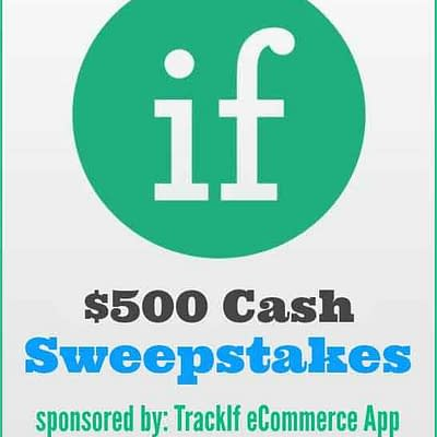 Ecommerce App $500 Cash Sweepstakes