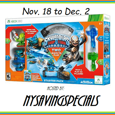 Skylanders Starter Pack For Xbox 360 Giveaway