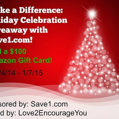 Save1 Amazon Gift Card Giveaway
