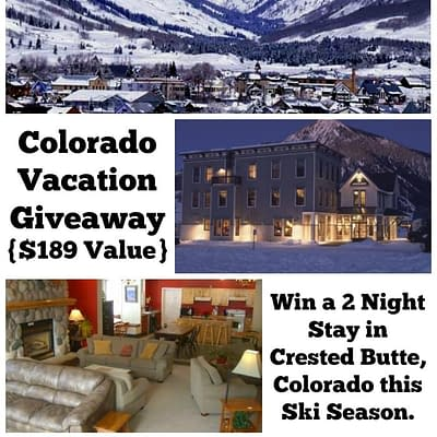 Crested Butte Vacation Giveaway