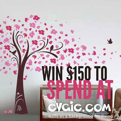 Evgie Wall Decals Coupon Giveaway