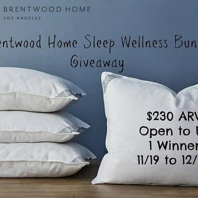 Sleep Wellness Bundle Giveaway