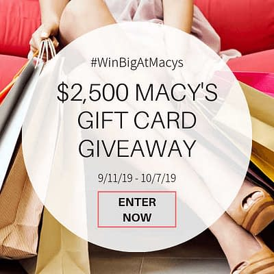 Macy's Gift Card Giveaway