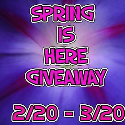 Spring Is Here – Win Fabulous Prizes