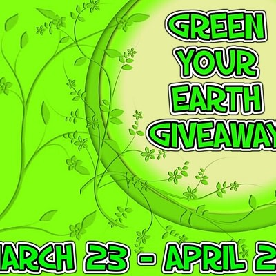 Blogger Opp – Green Your Earth Giveaway