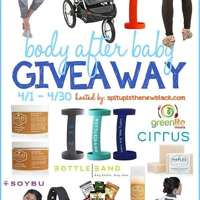 Body After Baby Products Giveaway