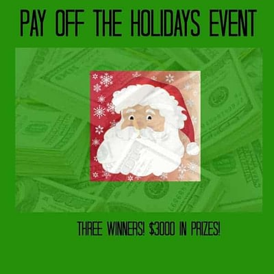 Pay Off The Holidays With $3000