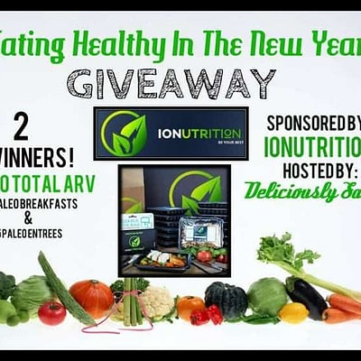 Eating Healthy In The New Year 2016 Giveaway