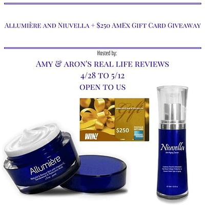 Allumière And Niuvella Anti-aging Cream Plus Amex Gift Card Giveaway