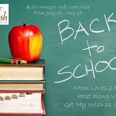 Back To School Shopping Giveaway