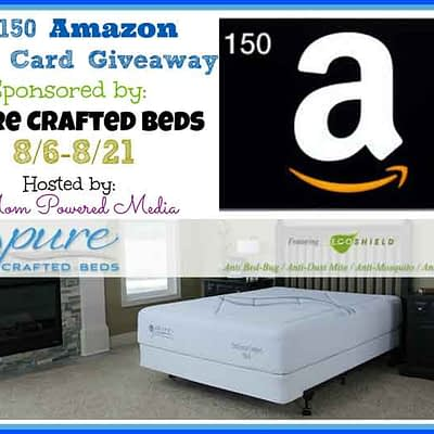 Pure Crafted Beds Gift Card Giveaway