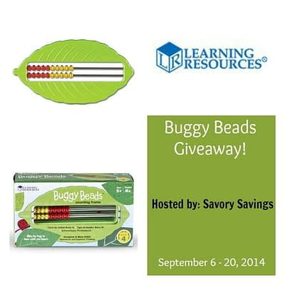 Learning Resources Buggy Beads Giveaway