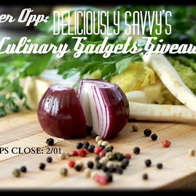 Blogger Opp – Culinary Gadgets Giveaway Event