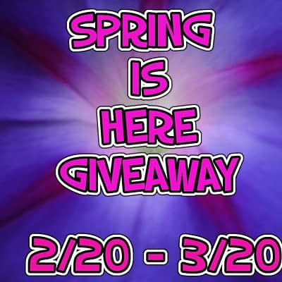 Blogger Opp – Spring Is Here Giveaway