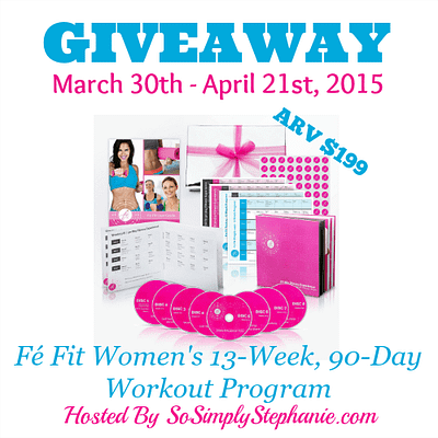Blogger Opp – Fe Fit Giveaway