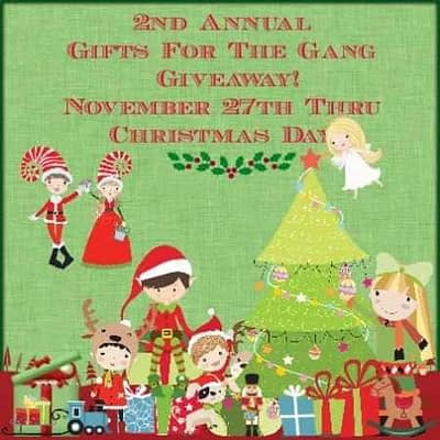 2nd Annual 2015 Gifts For The Gang Giveaway