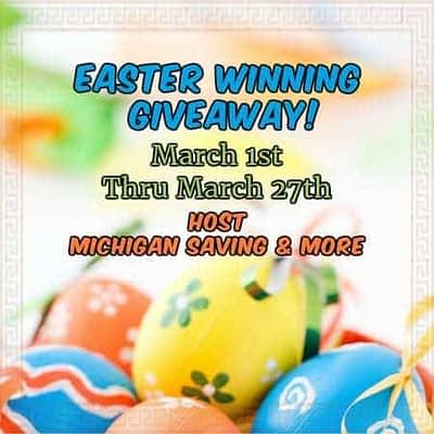 Easter Gifts Winning Giveaway
