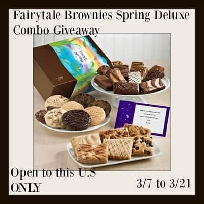 Fairytale Brownies Combo Pack Giveaway
