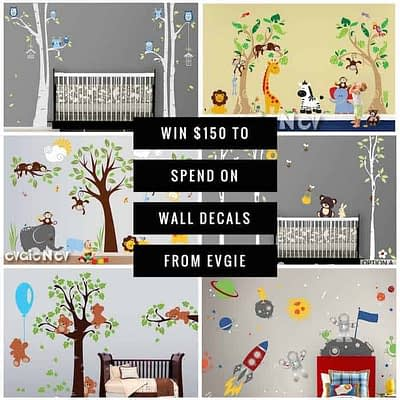 Jungle Safari Wall Decals Or Other Giveaway