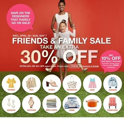 Friends And Family Sale 2017 Plus Giveaway