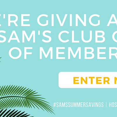 Sam's Club Gifts Of Membership Giveaway