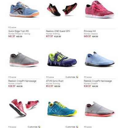 reebok outlet image