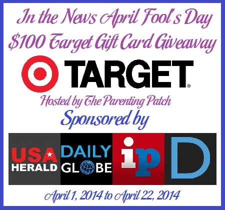 in the news april fool's day giveaway