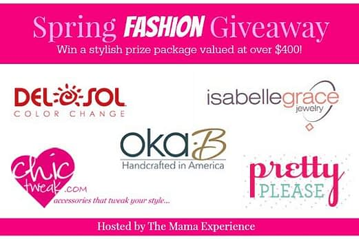spring fashion giveaway