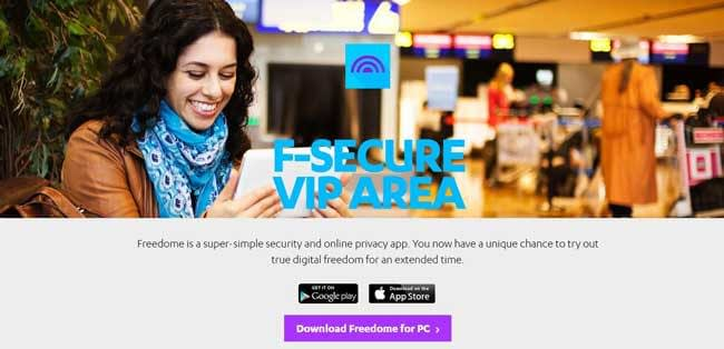 freedome vpn image