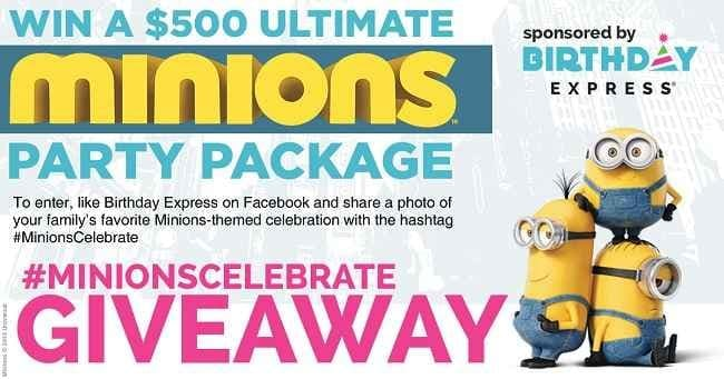minions party themes 2015
