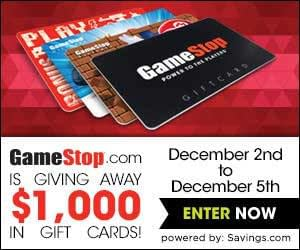 Gamestop Holiday Gift Guide & Giveaway