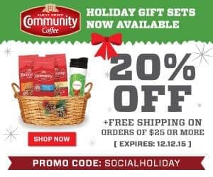 Community Coffee Coupons & Puritan's Pride GC Giveaway