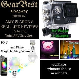 Gearbest Products Giveaway