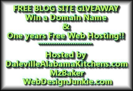 1 Year of Free Hosting and Domain Name Giveaway
