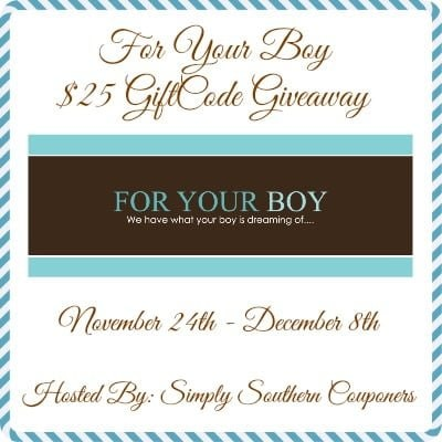Win $25 Gift Code Giveaway